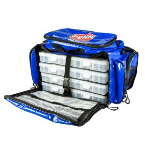 Large Tournament Tackle Bag showing trays