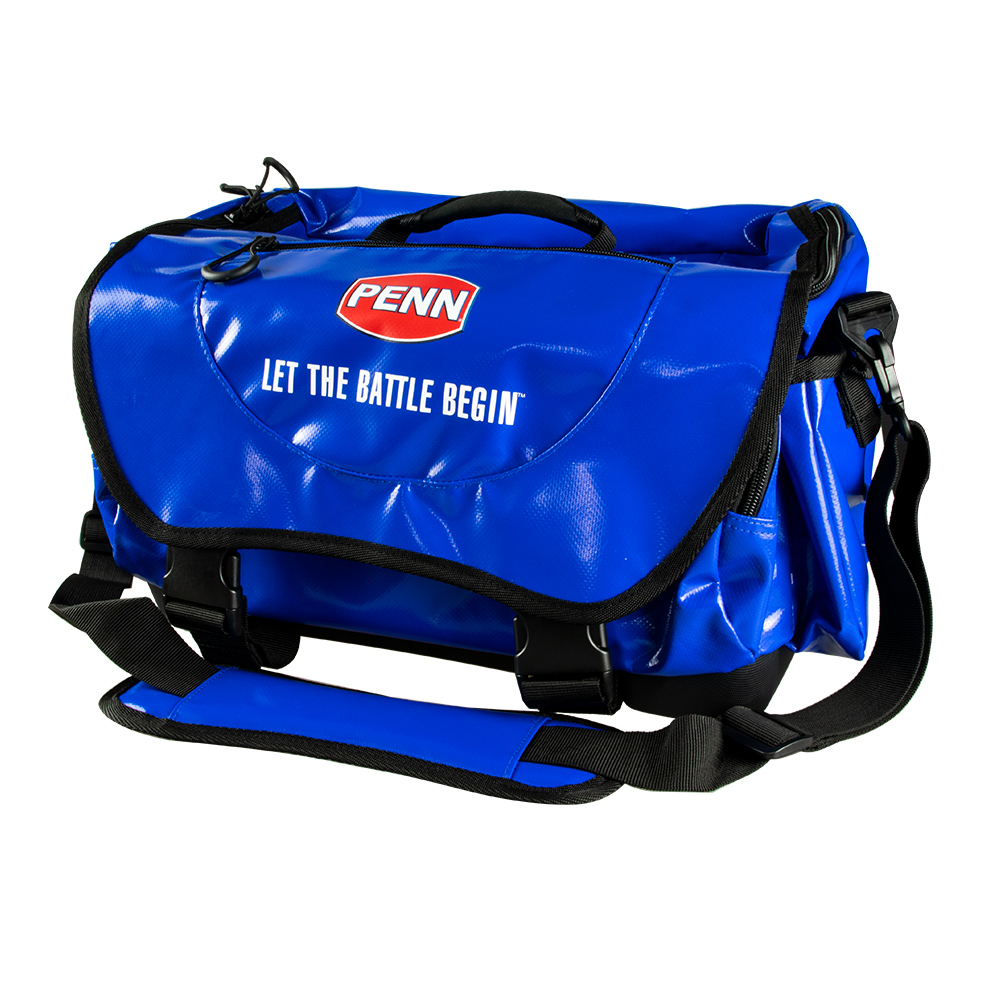 Medium Tournament Tackle Bag closed