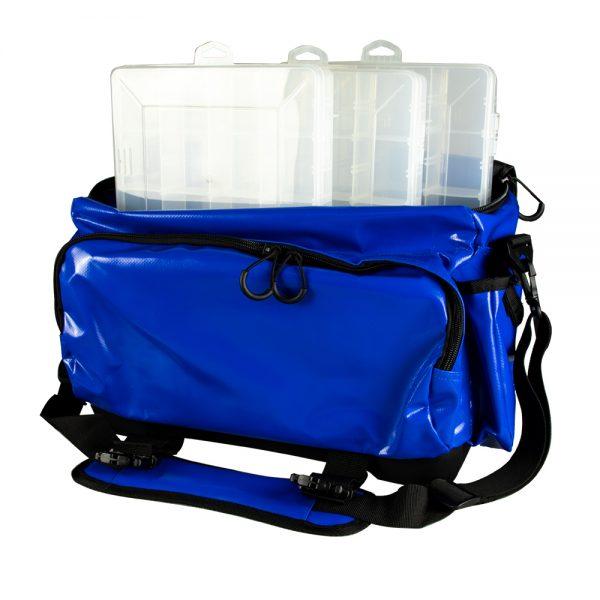 Medium Tournament Tackle Bag showing trays